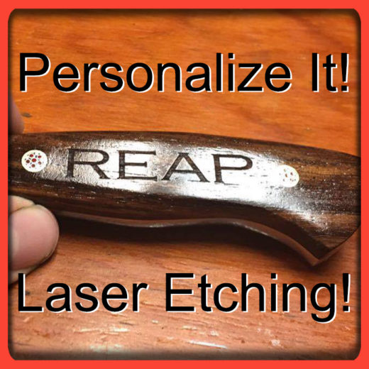 Personalized Laser Etching